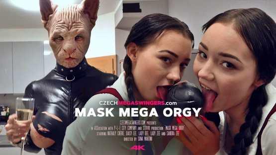 [Czech Mega Swingers] E22 Mask Mega Orgy