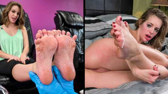 [Look At Her Now] Kimmy Granger: Pedicure Her