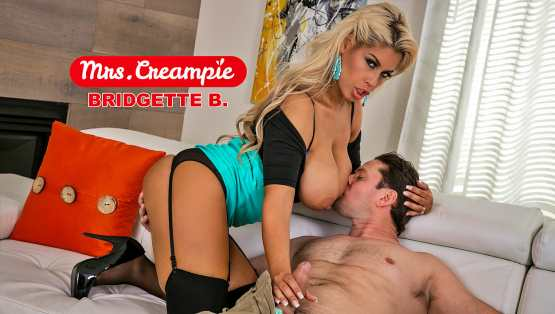[Mrs Creampie] Bridgette B Is A Lonely, Kinky Housewife In Need Of Anal And Cream!