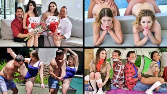 [TeamSkeet Selects] Daughter Swap Compilation 1: Aften Opal, Hime Marie, Kenzie Madison, Katie Kush