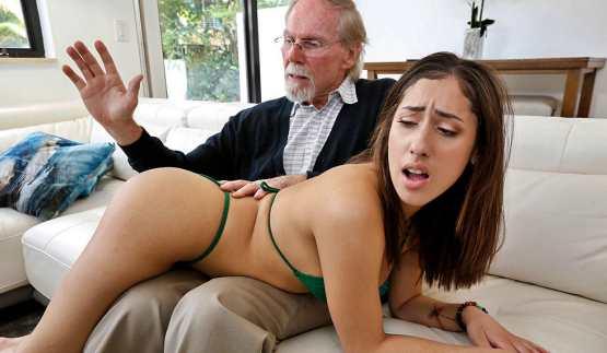 [BangBros 18] Kira Perez: Kira Gets Pounded By Grandpa