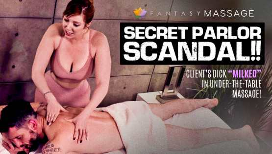 [Fantasy Massage] Valentina Nappi, Lauren Phillips: Parlor Scandal!! Client's Dick