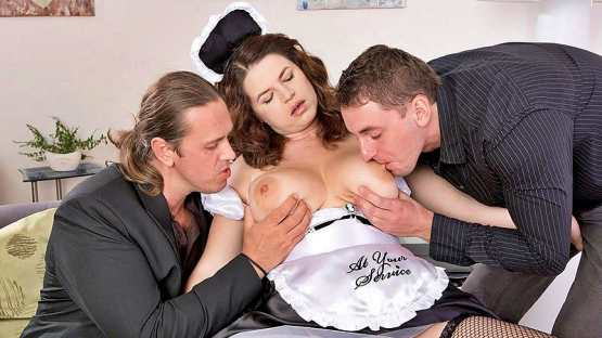 [Scoreland] Vicky Soleil: Tag-Team Fuck For A French Maid