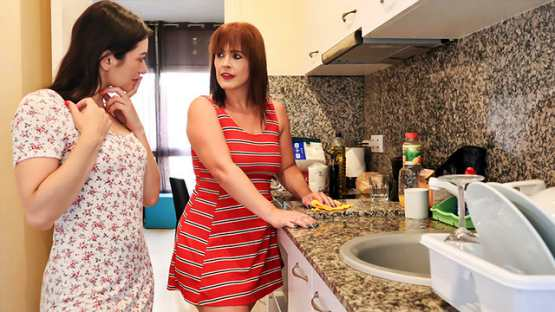 [Stay Home MILF] Montse Swinger, Valentina Bianco: Confined