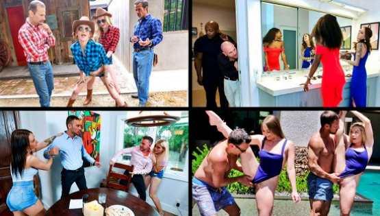 [TeamSkeet Selects] Daughter Swap Compilation 4: Kenzie Madison, Megan Hughes