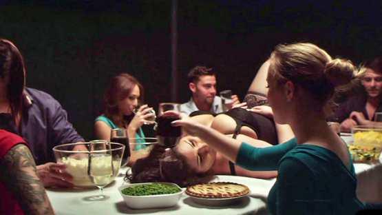 [TeamSkeet X James Deen] Lyla Storm, Karmen Karma, Harper Hughes, Jessie Parker: Gluttony Part 1