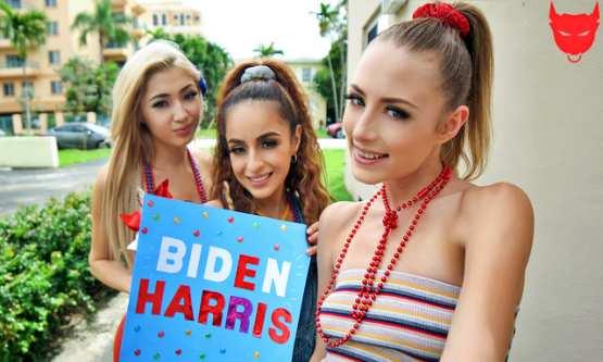 [BFFs] Sia Lust, Nola Exico, Kyler Quinn: Campaigning Hard