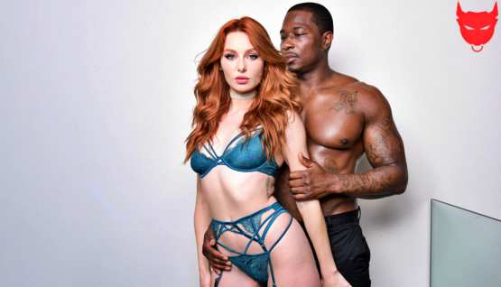[DarkX] Lacy Lennon: Redhead Lacy Wants That Big Cock!