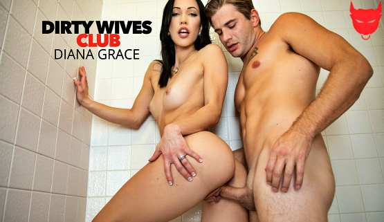 [Dirty Wives Club] Diana Grace Like To Show Her Husband The Tricks Of Her Sex Working Job