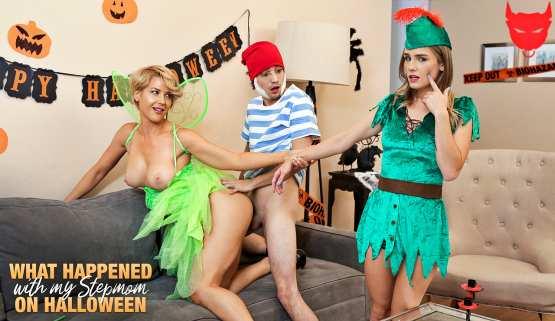 [Moms Teach Sex] Kit Mercer Natalie Knight: What Happened With My Stepmom On Halloween – S14:E1