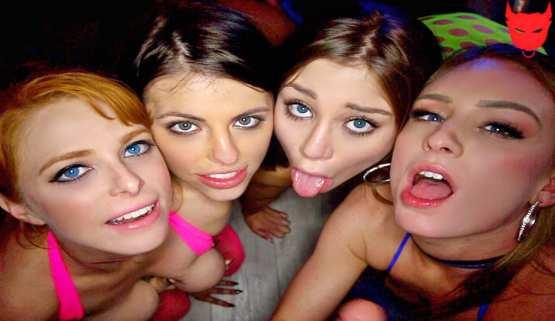 [Team Skeet X Mr Lucky POV] Kayla Paris, Adriana Chechik, Penny Pax & Daisy Stone: Perfect Plan