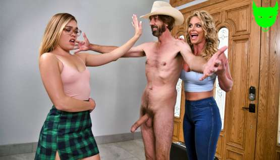 [Big Butts Like It Big] Phoenix Marie: Cum And Fuck On Our Door