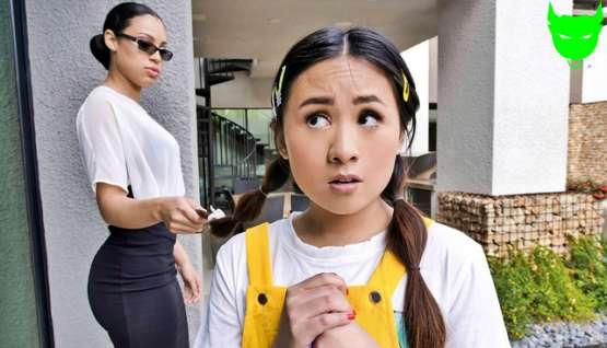 [Little Asians] Elle Voneva, Diamond Banks: Chalk