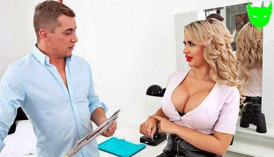 [ScoreLand] Jessica Bunnington: Hot Sex For The Busty Bimbo Secretary – Porn Mega Load