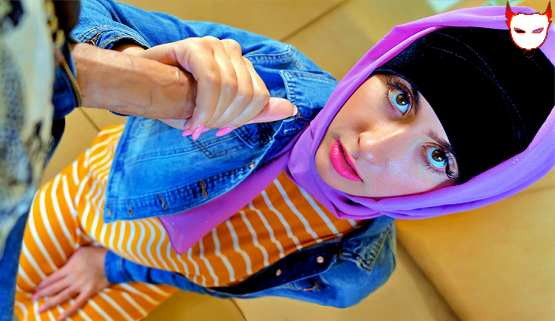 [Hijab Hookup] Angeline Red: Follow Your Wet Fantasies