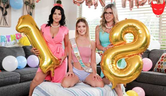 [Mommys Girl] Cory Chase, Leah Lee, Nadia White: Our Girl's All Grown Up