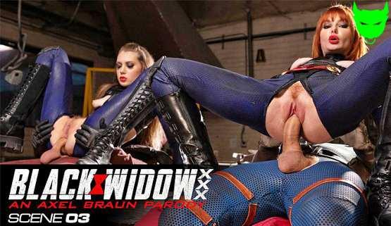 [Wicked] Elena Koshka, Lacy Lennon: Black Widow XXX, Scene 03