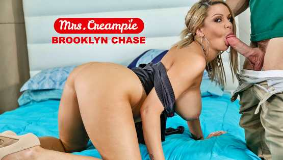 [Mrs Creampie] Brooklyn Chase: I Like My Donuts Filled With Cream